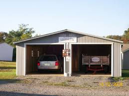 2 car garages 1 story 2 car garage fox run storage sheds