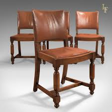 Antique Dining Chairs Set Of Four Antique Dining Chairs Edwardian Oak C 1910 Antique