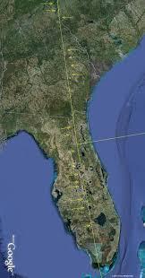 Florida And Georgia Map by The Eye Of The Sahara