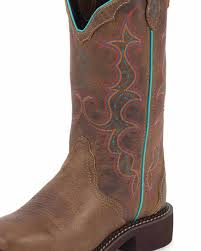 womens boots tractor supply justin s 12 in collection boot jaguar