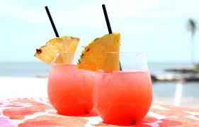 margarita on the beach tropical rum punch recipe the eyes of a boy