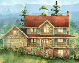 farmhouse plans with basement plan 14360rk detailed peaks cedar shake shingles shake shingle