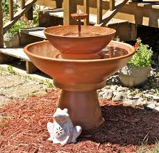 Diy Patio Fountain Astonishing Diy Garden Fountain Tutorials