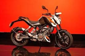 ktm india website updated with duke 390 autogadget http