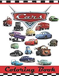 amazon disney cars coloring book 2 books featuring