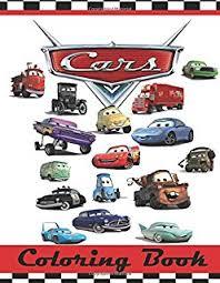 disney pixar cars ready race champion coloring book