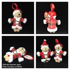 2009 mrs bearista japan starbucks ornament