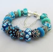 murano glass beads charm bracelet images Pandora style bracelets xanadudesigns artfire shop jpg