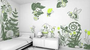 creative wallpaper for kids room decorating ideas youtube
