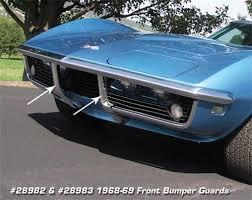 1978 corvette front bumper 28982 68 69 front bumper guard lh