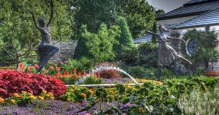Flower Area - gardens in kansas city visit kc