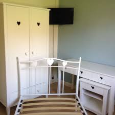 next amy wardrobe and metal bed frame matching desk and bedside