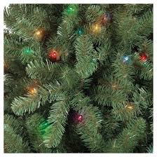 7ft prelit artificial christmas tree alberta spruce multicolored