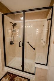 Towel Bar For Glass Shower Door Hanging A Towel Bar On Tile Lets The Towel Rack In
