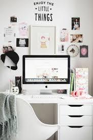 bureau fille et blanc 1001 idées pour une chambre d ado créative et fonctionnelle