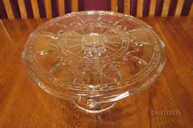 Crystal Pedestal Cake Stand Beautiful Tall Lead Crystal Royal Limited Czech Pedestal Cake
