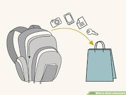 Herschel Tas Wassen how to wash a backpack 15 steps with pictures wikihow