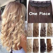 hair clip ins real thick 1pcs clip in 3 4 hair extensions extension as