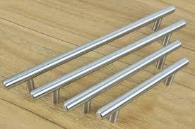 modern stainless steel kitchen cabinet pulls furniture hardware modern solid stainless steel kitchen cabinet handles bar t handle c c 320mm l 450mm