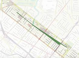 Map Of City Park New Orleans by The Lafitte Greenway