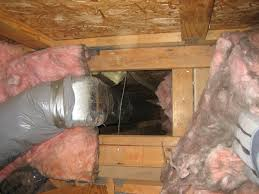 what does it mean if your fiberglass insulation is black ted u0027s