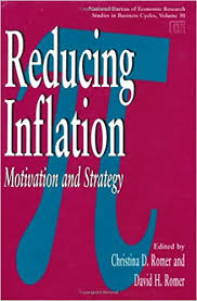 bureau for economic research reducing inflation motivation and strategy national bureau of
