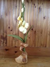 wood log vases hollow log wooden flower vase rustic flower vase home decor
