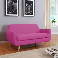 Discount Sofas And Loveseats by Amazon Com Mid Century Colorful Linen Fabric Sofa Loveseat In