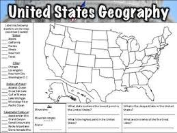7 best geography worksheets for middle images on pinterest