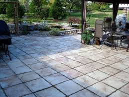 Backyard Pavers Diy Triyae Com U003d Large Tiles For Backyard Various Design Inspiration