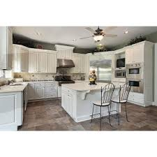 The Home Depot Kitchen Cabinets Lg Hausys Viatera 3 In Quartz Countertop Sample In River Shoal Lg