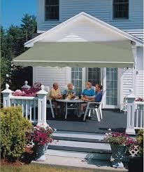 Sunsetter Patio Awning Lights Retractable Awnings For Patio Or Deck Luce S Chimney Stove Shop
