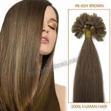 16 inch hair extensions inch 8 ash brown nail tip human hair extensions 100s