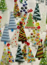 best 25 fused glass ornaments ideas on glass