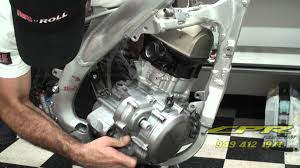 honda 450 r x engine removal by cpr fabrications youtube