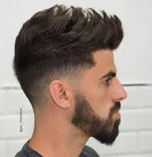 50 statement medium hairstyles for men taper fade haircuts and