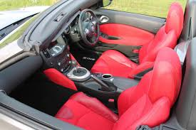 nissan 370z leather seats 21 nissan 370z roadster cherry red nappa leather and alcantara