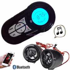 waterproof motorcycle audio radio sound system stereo speakers mp3