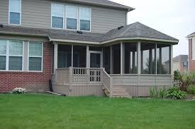 fresh enclosed back porch ideas 17696