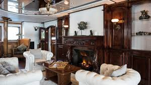 the best superyacht fireplaces in the world boat international