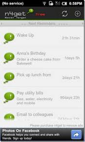 android reminders n4get reminder app with custom alert patterns intervals android