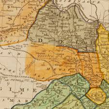 Map Of India And Nepal by India 1782 British India Hindoostan Hindustan Old Map