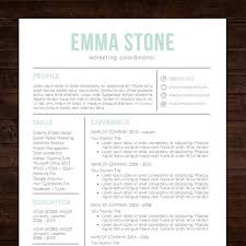 Resume Design Templates Word Instant Download Resume Template Cv Template For Ms Word