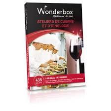 coffret cours de cuisine wonderbox coffret atelier de cuisine et d oenologie coffrets