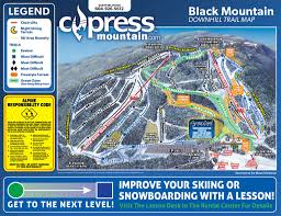 Italy Mountains Map by Trail Map Cypress Mountain
