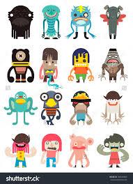 25 cute monster illustration ideas monster