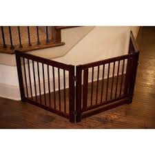 freestanding pet gates you u0027ll love wayfair