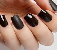 Black Manicure Designs Top 100 Black Nail Designs