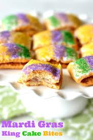 king cake for mardi gras king cake bites mardi gras recipe