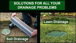 yard drainage solutions do yourself home outdoor decoration